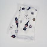 布ごよみ てぬぐいタオル ビール 34×100│タオル 手ぬぐい