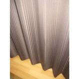 KM 2枚組遮光ディープ ブラウン 巾100×丈135cm