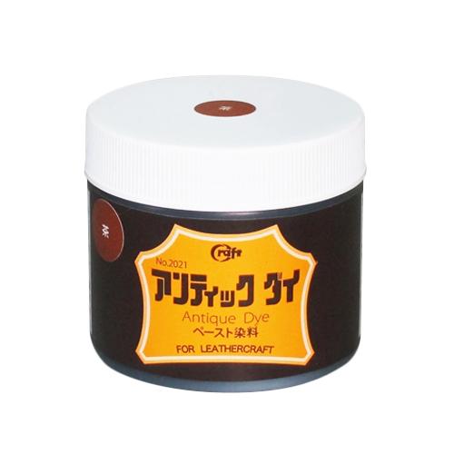 アンティックダイ #4 茶 100ml│レザークラフト用品 皮革用染料