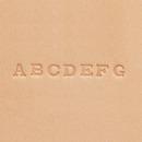 アルファベット刻印棒セット 6×6ミリ 8303