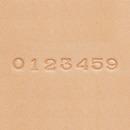 クラフト社 ナンバー刻印棒セット 6mm 8303
