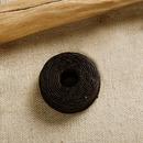 クラフト社 手縫いロウビキ糸こげ茶 8615‐02│レザークラフト用品 皮革用糸・ロウ引き糸