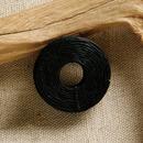 クラフト社 手縫いロウビキ糸黒 8615‐03│レザークラフト用品 皮革用糸・ロウ引き糸