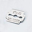 クラフト社 革スキ 替刃 10枚入 8672│レザークラフト用品 皮革用工具