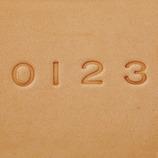 クラフト社 数字刻印セット 7mm