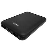 TEC モバイルバッテリー 5000mAh TMB-5K ブラック│携帯・スマホアクセサリー モバイルバッテリー・携帯充電器