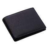 ブレイリオ サフィアーノ 小銭入れ付き二つ折り財布 102-10 ブラック