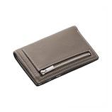 ブレイリオ モルビド バーティカルウォレット 127−24 ブラウングレー×ガーデニア│財布・名刺入れ 二つ折り財布