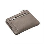 ブレイリオ モルビド ピッコロポーチ 129−24 ブラウングレー×ガーデニア│財布・名刺入れ 小銭入れ