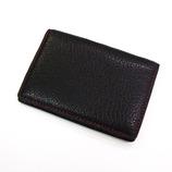 SPAD R&J パス&カードケース ブラック&ワイン 4217-5