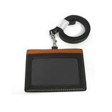 ブレイリオ R&J IDカードケース ブラック&オレンジ 4219-3