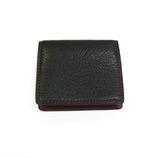 SPAD R&J 小銭入れBOX ブラック&ワイン 4315-5