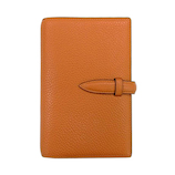 ブレイリオ(Brelio) モルビド バイブルサイズ システム手帳 6穴16mm 585 オレンジ×ガーデニア