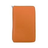 ブレイリオ(Brelio) モルビド バイブルサイズ システム手帳 6穴16mm 586 オレンジ×ガーデニア