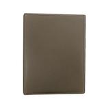 ブレイリオ(Brelio) モルビド A5サイズ システム手帳 6穴16mm 735 ブラウングレー×ガーデニア