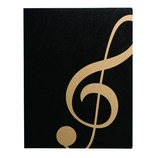 ナカノ MUSICファイル ト音記号 FL95GCBLG