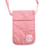 TABILIFE 旅貴重品袋 ネックタイプ ピンク