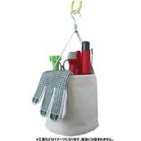 東京科学 ミニ電工バケツ 帆布MA生成│工具箱・脚立 工具袋・ホルダー