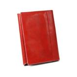 ASHFORD イシュー ブックカバー 文庫サイズ 8079−044 レッド