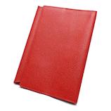 アシュフォード(ASHFORD) テンカラーズ 文庫サイズブックカバー 8685−044RE レッド│ブックカバー・製本用品 ブックカバー