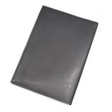 NEW_アシュフォード(ASHFORD) ダークヌメ ブックカバー 文庫サイズ 8687−011 ブラック