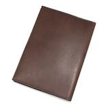 アシュフォード(ASHFORD) ダークヌメ ブックカバー 文庫サイズ 8687−022 ブラウン