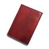 アシュフォード(ASHFORD) ドローイング ブックカバー 文庫サイズ 8688−048 ワイン