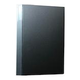 アシュフォード(ASHFORD) 保存バインダー バイブル 26mm 0301-011 ブラック│システム手帳・リフィル 6穴バインダー