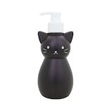 ハシートップイン(Hashy) ネコのディスペンサー S HB−3149 ブラック 300mL│洗面用具・洗面所用品 ソープディスペンサー