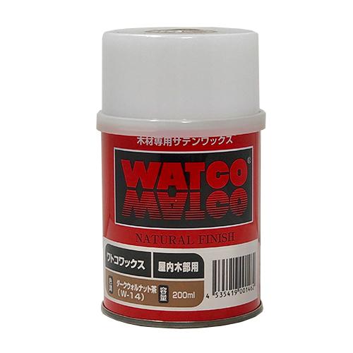 北三 ワトコワックス 200ml W-14 ダークウォルナット茶