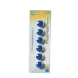 MAGX カラーボタン20青 MFCB-20-6P-B