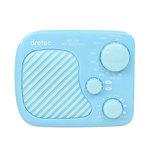 ドリテック(DRETEC) AM/FM防滴ラジオ PR-320 ブルー