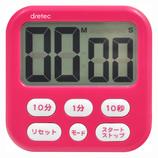 ドリテック 大画面タイマーシャボン6 T−542 ピンク