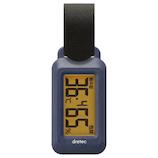 ドリテック ポータブル温湿度計 ブライン O-299 ネイビー