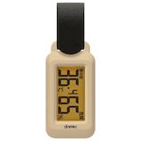 ドリテック ポータブル温湿度計 ブライン O-299 ベージュ│温度計・湿度計