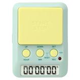 ドリテック ラーニングタイマー T‐587GN グリーン&イエロー│タイマー・計量器 キッチンタイマー