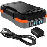 ブラック&デッカー(BLACK&DECKER) GoPak充電池 BDCB12UC (USBケーブル・ACアダプタ付き)