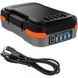 ブラック&デッカー(BLACK&DECKER) GoPak充電池 BDCB12U (USBケーブル付き)