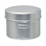 HANGO ラウンドランチボックス シルバー│お弁当箱 弁当箱