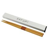 逸品社 EATUP 箸箱セット 18cm 43415-8 ホワイト