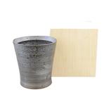 WA−Bi 木箱入りスリムワビカップ 銀彩