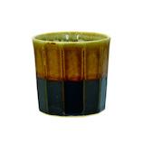 逸品社 面取 カップ 大 85811‐4 内乳濁釉(にゅうだくゆ)│酒・ワイングッズ 徳利・猪口