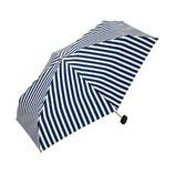 w.p.c 晴雨兼用雨傘 折りたたみ傘 リボンチャームmini 808−156 ネイビー