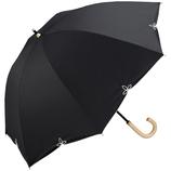 wpc 晴雨兼用 日傘 バードケイジワイドスカラップ 81−6569 ブラック│レインウェア・雨具 日傘
