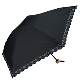 w.p.c 晴雨兼用 折りたたみ日傘 軽量ヒートカットミニ  801−508 ブラック