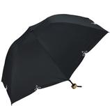 w.p.c 晴雨兼用 折りたたみ日傘 バードケイジワイドスカラ 801−656 ブラック