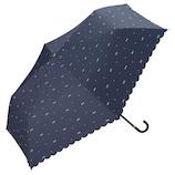 w.p.c 日傘 折りたたみ傘 ジェムリボン ミニ 801−945NV ネイビー│レインウェア・雨具 日傘