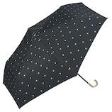 Wpc. 遮光ゴールドプチハート mini 801-3046 ブラック│レインウェア・雨具 日傘
