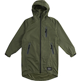 KiU RAIN ZIP UP K116−906 カーキ
