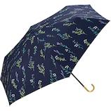 w.p.c 日傘 折りたたみ傘 遮光春の庭mini 801−3267 ネイビー